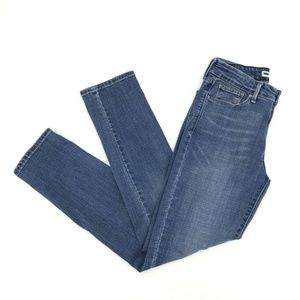 Levis Mid Rise Skinny Jeans Size 6M 28X32 Stretch